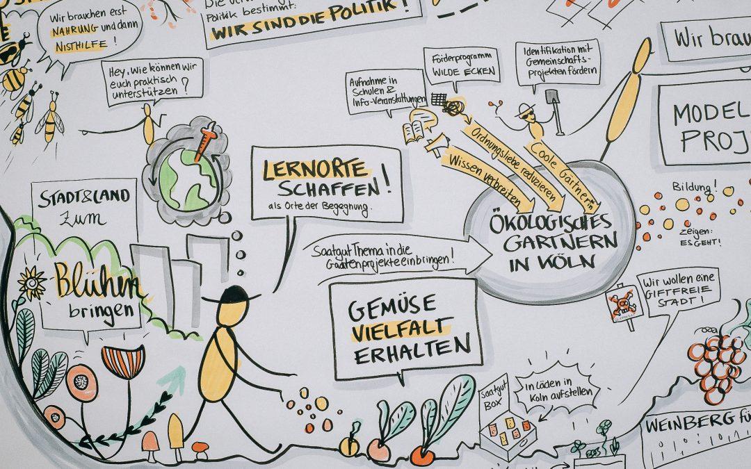 Mitarbeiter*in (m/w/d) für die Koordination der Essbaren Stadt Köln zum 01. September 2020 gesucht!