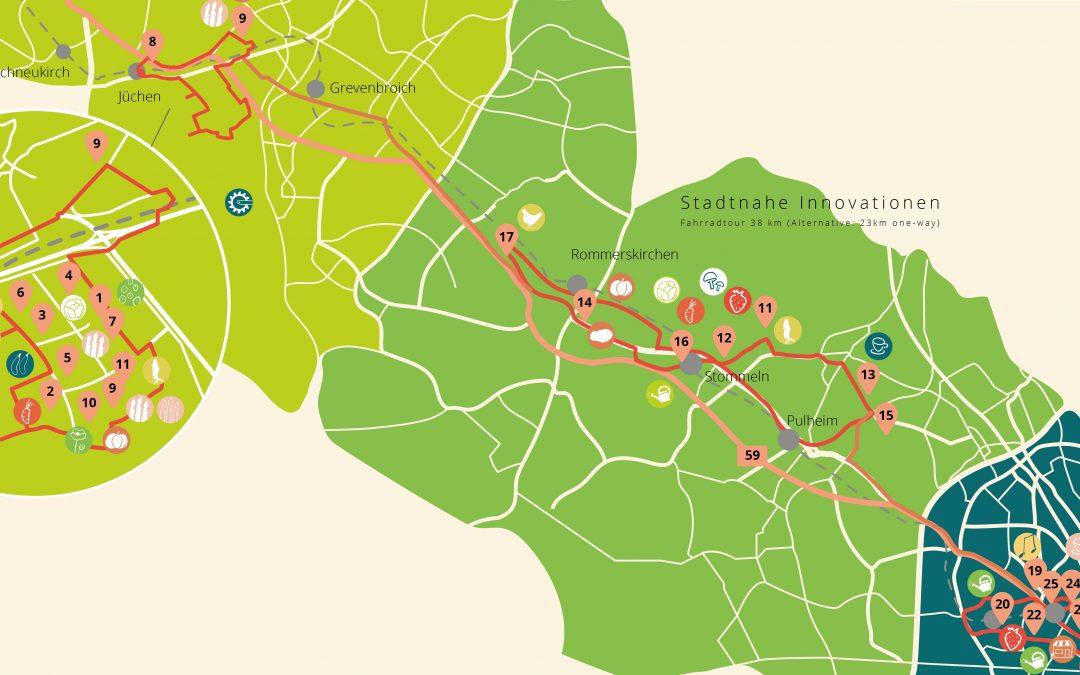 Food Strip – Fahrradtouren durch die Rheinische Land(wirt)schaft