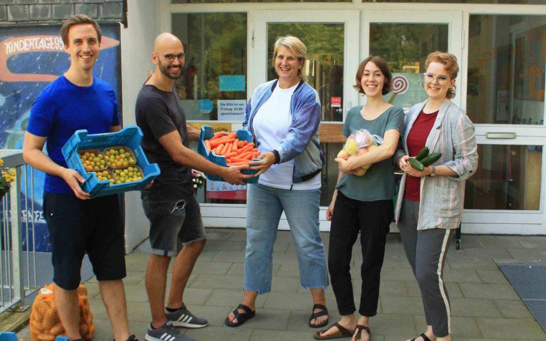 Start der Versorgung mit regionalen Lebensmitteln an 14 Modellkitas